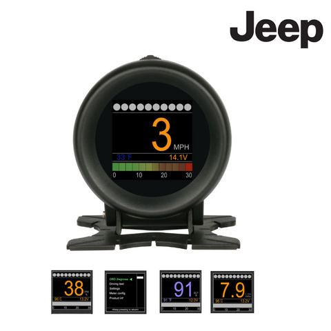 Jeep Trip Computer Gauge & Scan