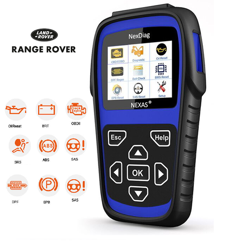 Land Rover DPF, SAS, BMS, SRS (airbag), ABS, OIL RESET Diagnostic Scan Tool