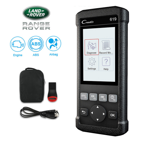 Land Rover SRS/Airbag, ABS, Reader & Reset Diagnostic Scan Tool