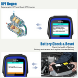 MINI DPF, SAS, BMS, SRS (airbag), ABS, OIL RESET Diagnostic Scan Tool