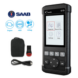 Saab SRS/Airbag, ABS, Reader & Reset Diagnostic Scan Tool