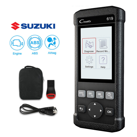 Suzuki SRS/Airbag, ABS, Reader & Reset Diagnostic Scan Tool