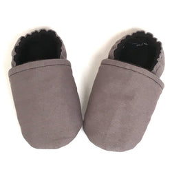 Gray Baby Shoes