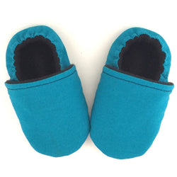 Teal Baby Shoes