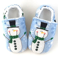 Snowman Baby Shoes