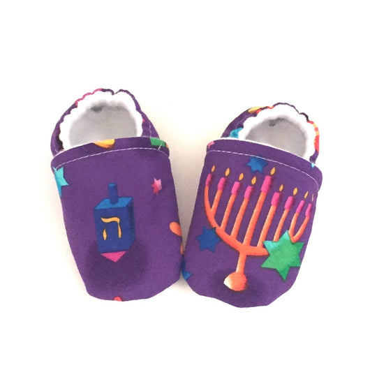Hanukkah Baby Shoes