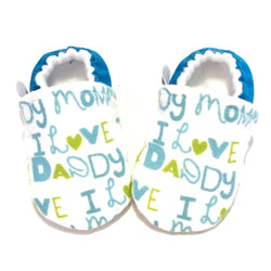 I Love Daddy Baby Shoes