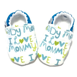 I Love Mommy Baby Shoes