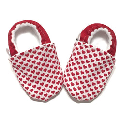 Red Heart Baby Shoes