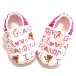I Love Grandma Baby Shoes