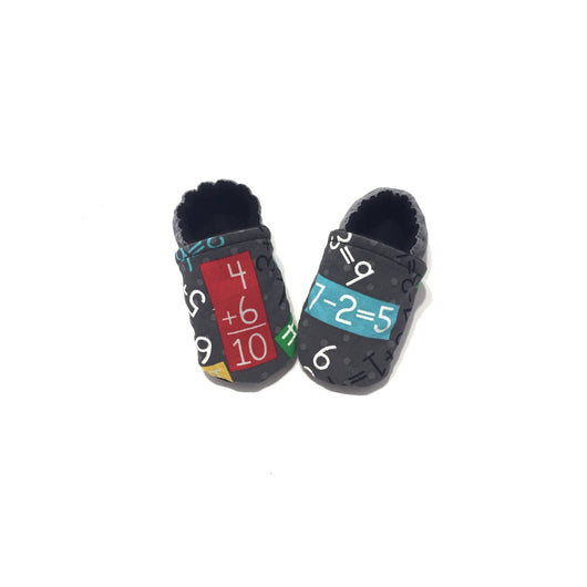 Math Baby Shoes