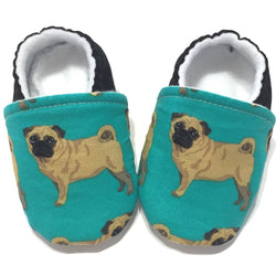 Pug Baby Shoes