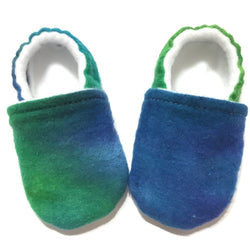 Aurora Borealis Baby Shoes