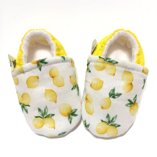 Yellow Lemon Baby Shoes