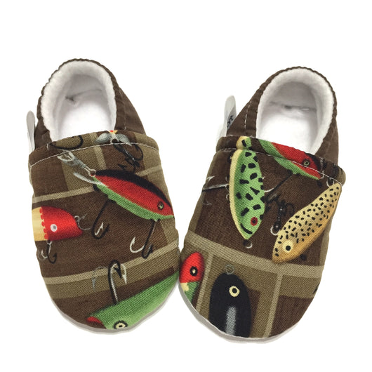 Fishing Baby Shoes