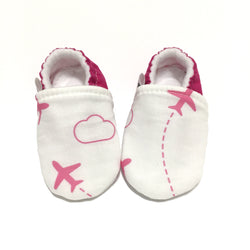 Pink Airplane Shoes - Whole Sale