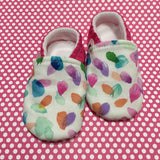 Watercolor Baby Shoes