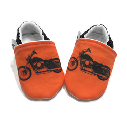 Motorcycle Baby Shoes