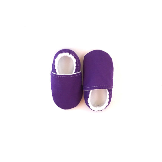Purple Baby Shoes