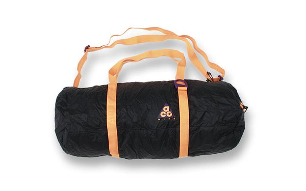 Nike ACG: Packable Duffle (Night Purple/Black/Bright Mandarin) Nike ACG - Nowhere