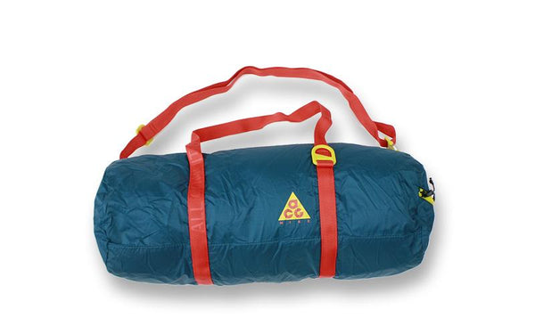 Nike ACG: Packable Duffle (Geode Teal/Habanero Red) Nike ACG - Nowhere