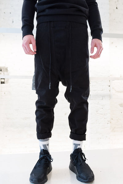 11 by Boris Chino Mixed Jogging Pant