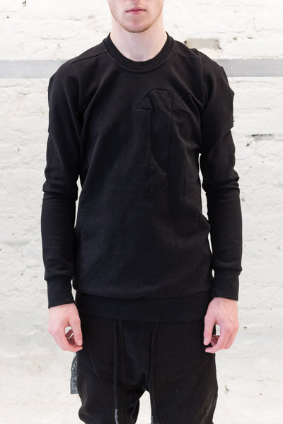 11 by Boris Crewneck Block Cut