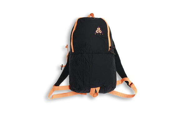 Nike ACG: Packable Backpack (Night Purple/Black/Bright Mandarin) Nike ACG - Nowhere