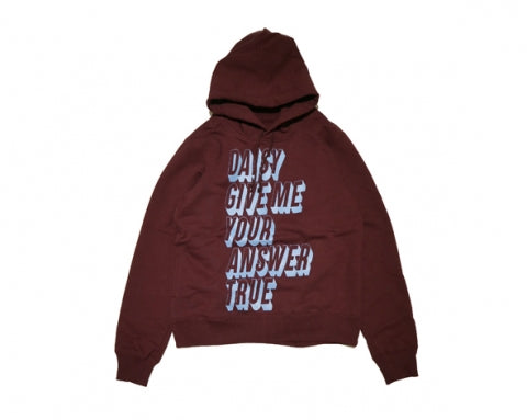Undercover: Daisy Hoodie (Burgundy) Undercover - Nowhere