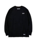 Neighborhood: Classic-P/C-Crew L/S Tee (Black) Neighborhood - Nowhere