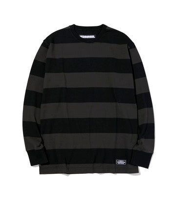 Neighborhood: B.D./C-Crew L/S Tee (Black) Neighborhood - Nowhere