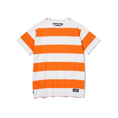 Neighborhood: B.D./C-Crew S/S Tee (Orange) Neighborhood - Nowhere