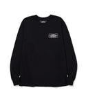 Neighborhood: Bar & Shield L/S C-Tee (Black)