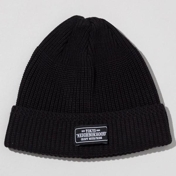 Neighborhood: Beanie JEEP / AW-CAP (Black) Neighborhood - Nowhere