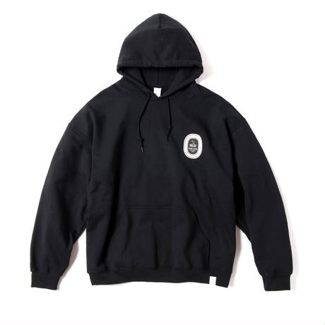 Magic Stick: Sticker P/O Hoodie (Black) Magic Stick - Nowhere