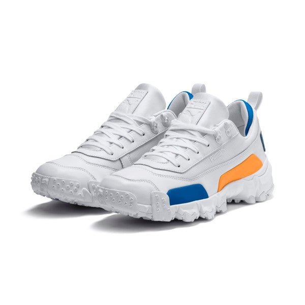 Puma: Trailfox Leather (Puma White/Indigo Bunting)