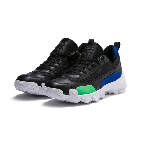 Puma: Trailfox Leather (Puma Black/Irish Green)