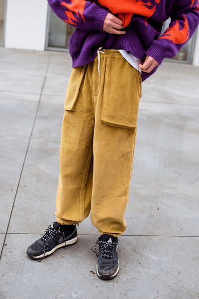 Perks and Mini: Return Cord Pants (Mustard)
