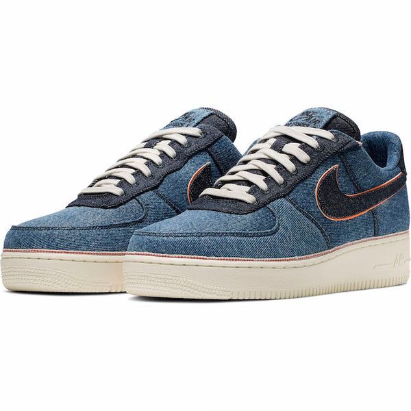 Nike x 3x1: Air Force 1 '07 Premium (Stonewash Blue)