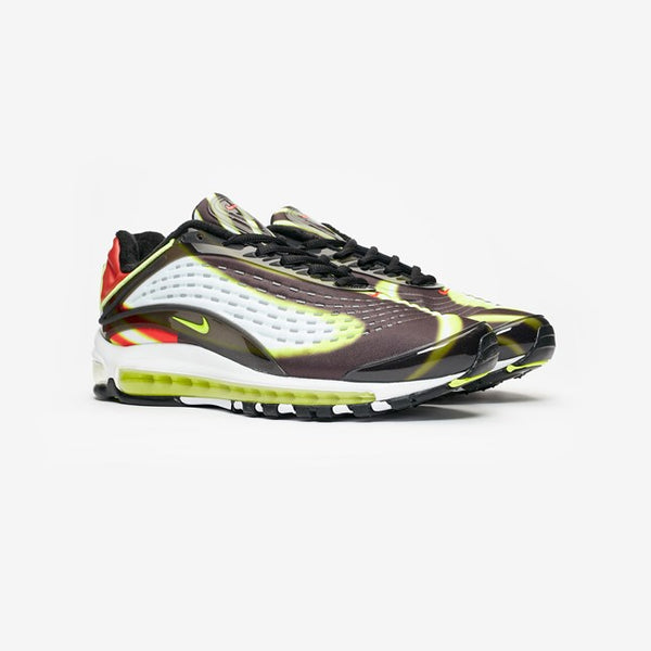 Nike: Air Max Deluxe (Black/Volt/Habanero Red/White)