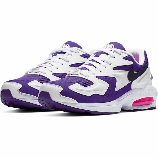 Nike: Air Max2 Light (White/Black/Court Purple/Hyper Pink)