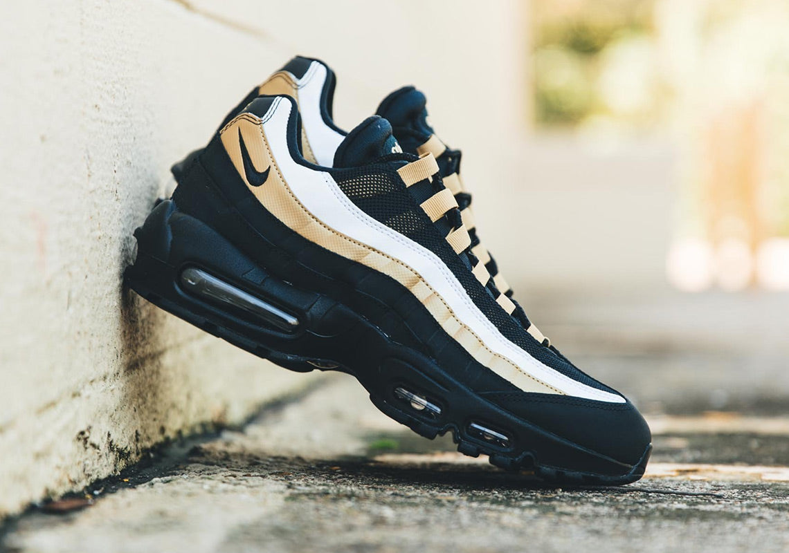 best loved 70417 172ff Nike Air Max 95 OG (BlackMetallic GoldWhite) – Nowhere