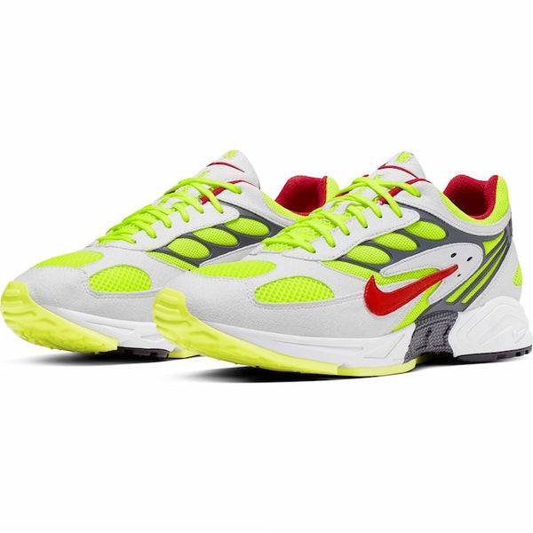 Nike: Ghost Racer (White/Atom Red/Neon Yellow/Dark Grey)