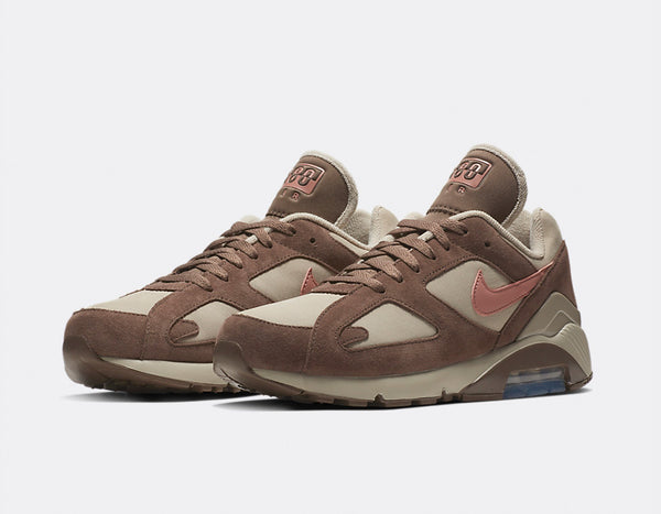 Nike: Air Max 180 (String/Rust Pink)