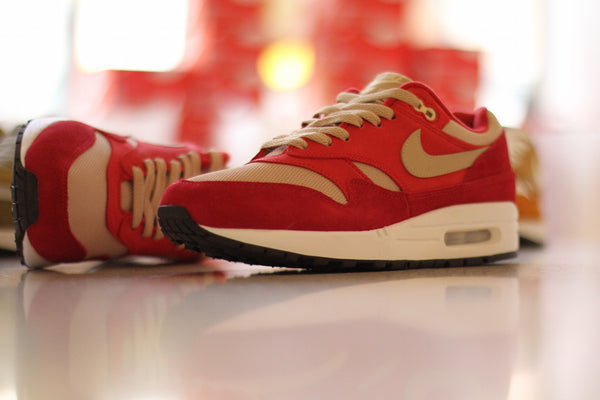 Nike: Air Max 1 Premium Retro - Red Curry Nike - Nowhere
