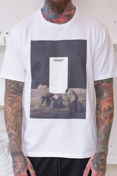 Undercover: Peasant Scene Tee (White) Undercover - Nowhere