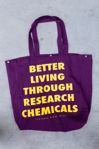 Perks and Mini: B.L.T.R.C. Tote Bag (Purple)