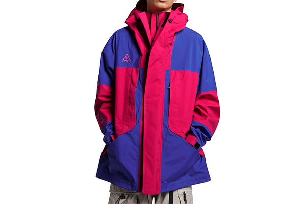 NikeLab ACG: Gore-Tex Jacket (Rush Pink/Hyper Royal)