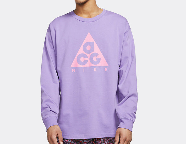 Nike ACG: L/S Tee (Space Purple/Lotus Pink)
