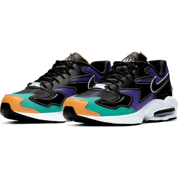 Nike: Air Max2 Light (Black/Flash Orange)